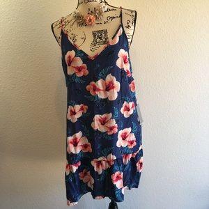 🌸Justify ruffle bottom XL NWT dress